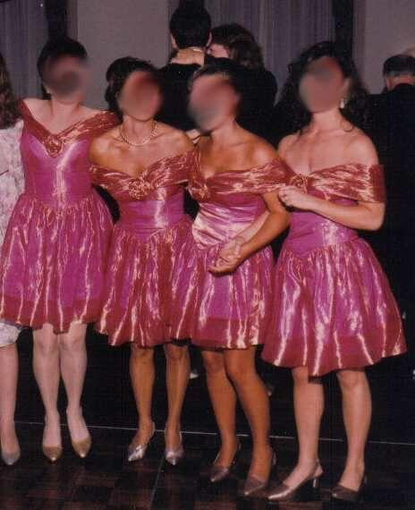 e23c9753a2 Etiquette Hell Bridesmaid Dress Incinerator